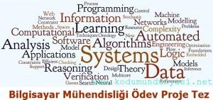 Bilgisayar mühendisliği ödev proje tez