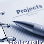 proje yazdırma